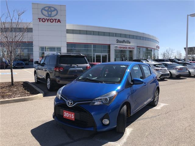 2015 Toyota Yaris SE VNKKTUD34FA025084 P2139 in Whitchurch-Stouffville