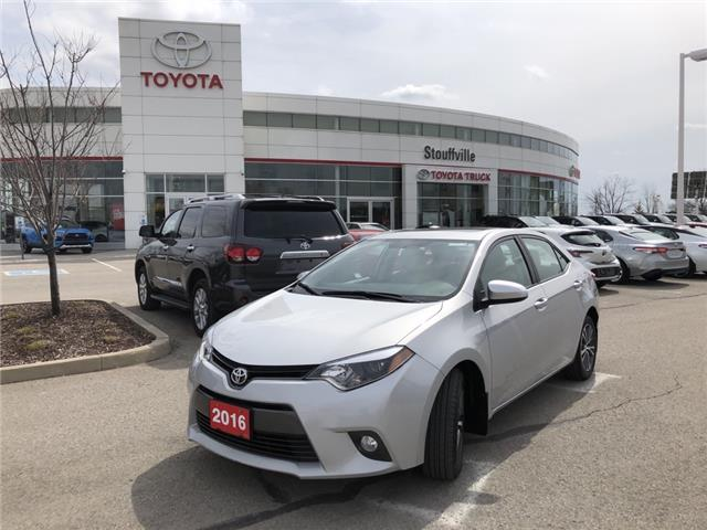 2016 Toyota Corolla LE (Stk: P2145) in Whitchurch-Stouffville - Image 1 of 14