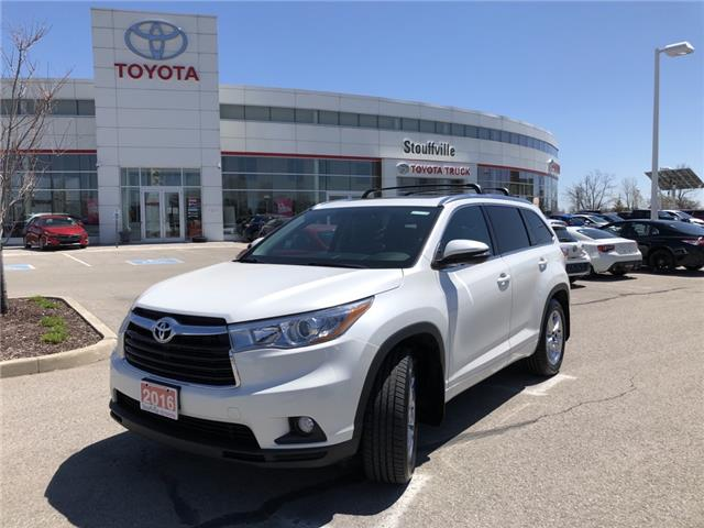 2016 Toyota Highlander Limited (Stk: P2152) in Whitchurch-Stouffville - Image 1 of 20