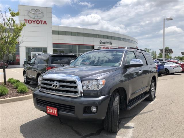 2017 Toyota Sequoia Limited 5.7L V8 5TDJY5G14HS149089 P2171 in Whitchurch-Stouffville