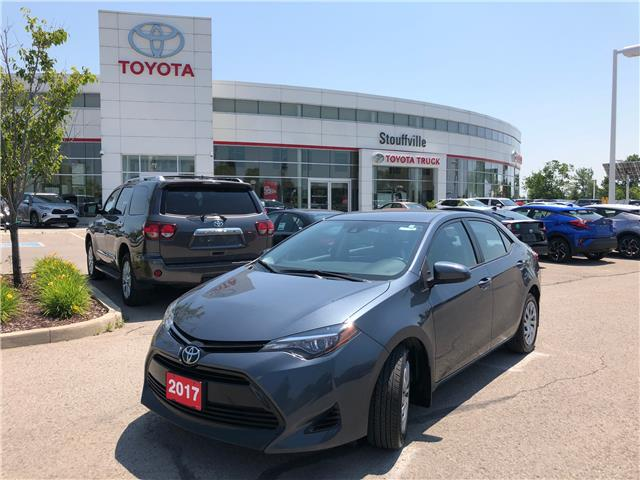 2017 Toyota Corolla LE 2T1BURHE8HC865169 P2209 in Whitchurch-Stouffville