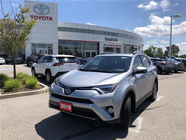 2018 Toyota RAV4 Hybrid Limited (Stk: P2206) in Whitchurch-Stouffville - Image 1 of 18