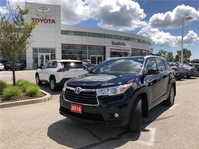 2016 Toyota Highlander XLE 5TDJKRFH8GS294710 P2229 in Whitchurch-Stouffville