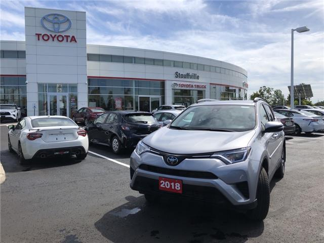 2018 Toyota RAV4 LE (Stk: P2275) in Whitchurch-Stouffville - Image 1 of 14