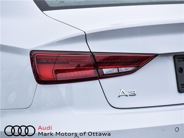2018 Audi A3 2.0T Progressiv (Stk: 90850) in Nepean - Image 8 of 27
