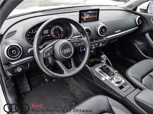 2018 Audi A3 2.0T Progressiv (Stk: 90850) in Nepean - Image 9 of 27