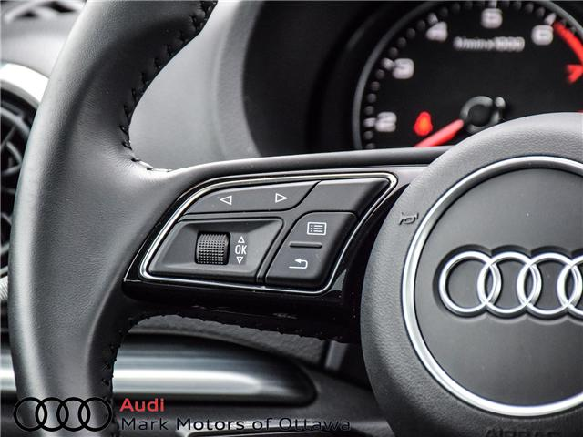 2018 Audi A3 2.0T Progressiv (Stk: 90850) in Nepean - Image 13 of 27
