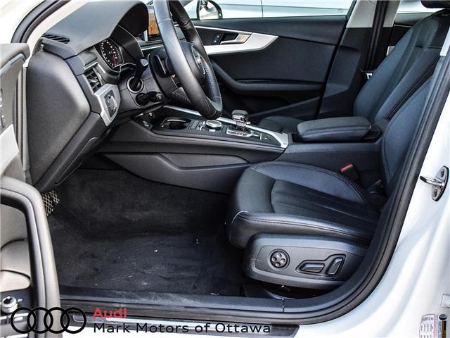 2018 Audi A4 2.0T Progressiv (Stk: 90540) in Nepean - Image 10 of 29