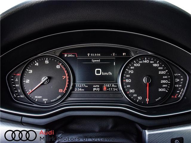 2018 Audi A4 2.0T Progressiv (Stk: 90540) in Nepean - Image 20 of 29