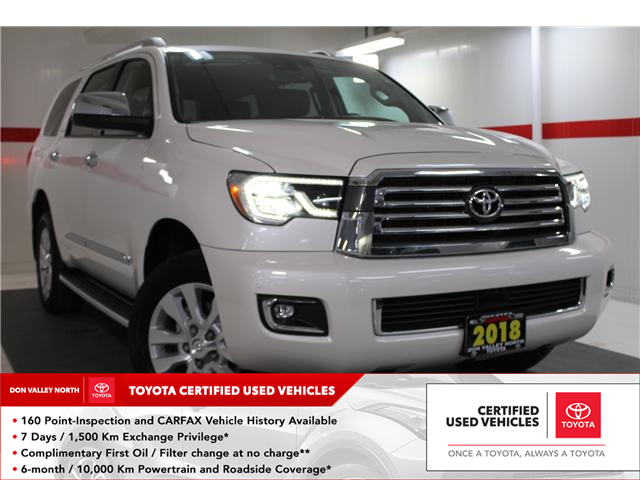 2018 Toyota Sequoia Platinum 5.7L V8 (Stk: 297853S) in Markham - Image 1 of 30