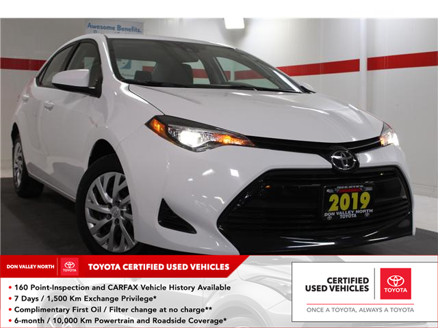 2019 Toyota Corolla LE (Stk: 297879S) in Markham - Image 1 of 24
