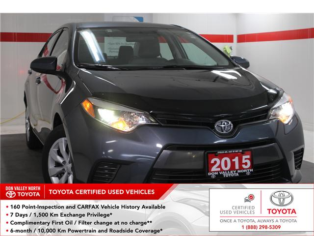 2015 Toyota Corolla LE (Stk: 297974S) in Markham - Image 1 of 24