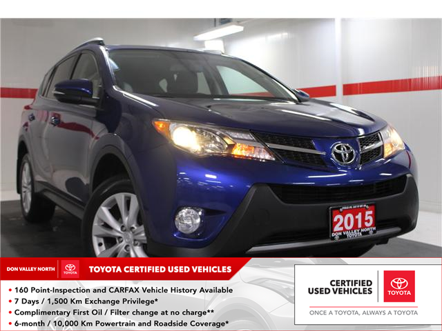 2015 Toyota RAV4 Limited (Stk: 298015S) in Markham - Image 1 of 27