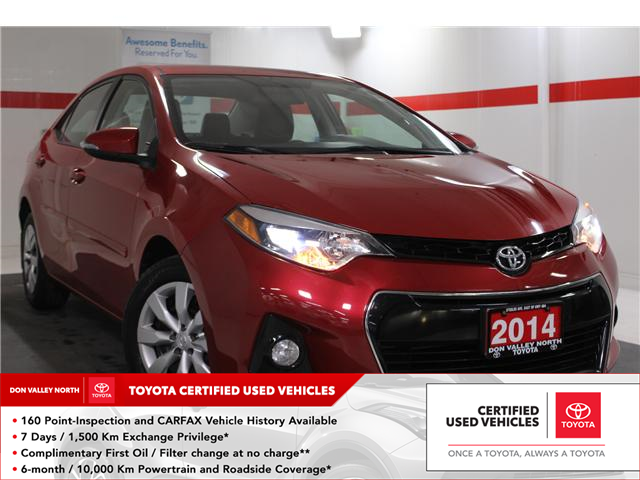 2014 Toyota Corolla S (Stk: 298088S) in Markham - Image 1 of 23