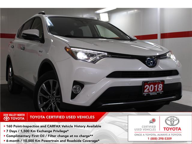2018 Toyota RAV4 Hybrid Limited (Stk: 298030S) in Markham - Image 1 of 27