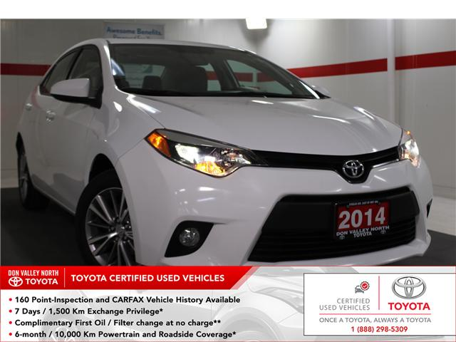 2014 Toyota Corolla LE (Stk: 298120S) in Markham - Image 1 of 25