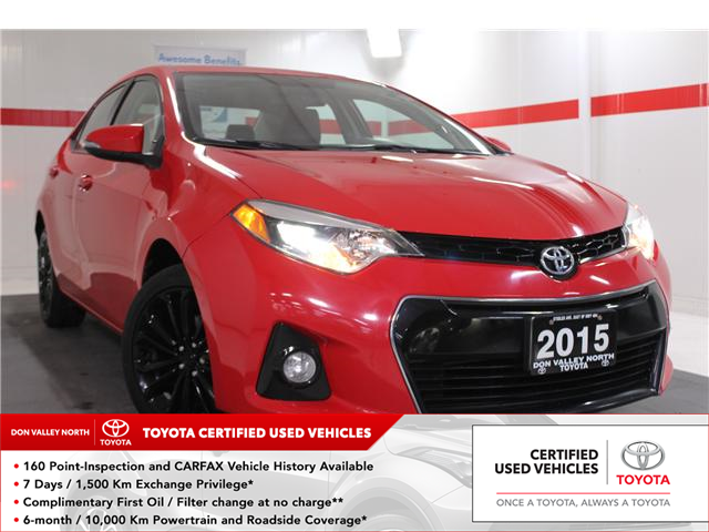 2015 Toyota Corolla S (Stk: 298193S) in Markham - Image 1 of 24