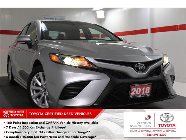 2018 Toyota Camry SE (Stk: 298108S) in Markham - Image 1 of 25