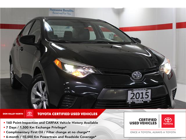 2015 Toyota Corolla LE (Stk: 298117S) in Markham - Image 1 of 24