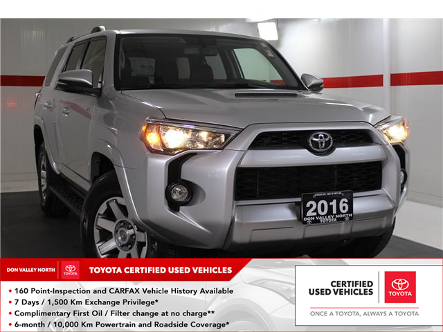 2016 Toyota 4Runner SR5 (Stk: 298080S) in Markham - Image 1 of 26
