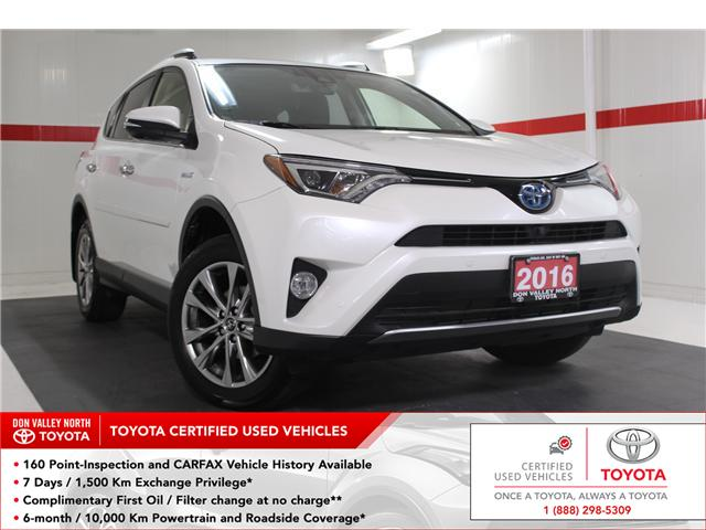 2016 Toyota RAV4 Hybrid Limited (Stk: 298213S) in Markham - Image 1 of 23
