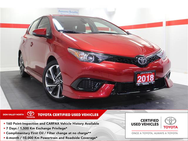 2018 Toyota Corolla iM Base (Stk: 298372S) in Markham - Image 1 of 24