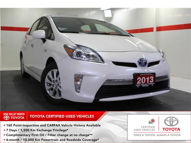 2013 Toyota Prius Plug-in Base (Stk: 298459S) in Markham - Image 1 of 23