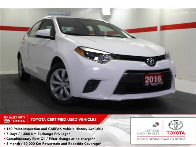 2016 Toyota Corolla LE (Stk: 298410S) in Markham - Image 1 of 24