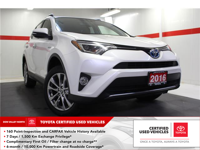 2016 Toyota RAV4 Hybrid Limited (Stk: 298508S) in Markham - Image 1 of 26