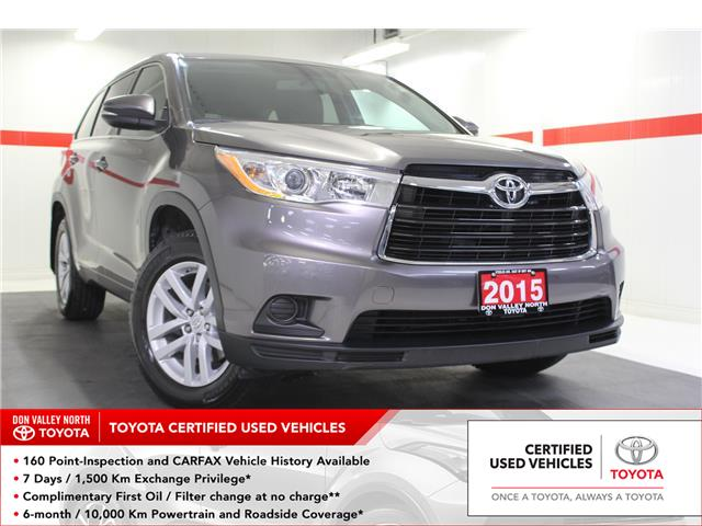 2015 Toyota Highlander LE (Stk: 298468S) in Markham - Image 1 of 24