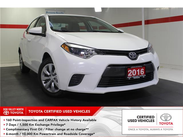 2016 Toyota Corolla LE (Stk: 298733S) in Markham - Image 1 of 23