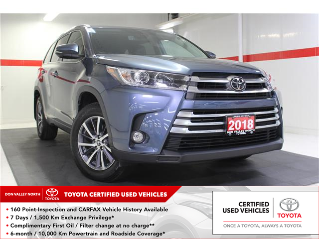 2018 Toyota Highlander XLE (Stk: 298796S) in Markham - Image 1 of 27