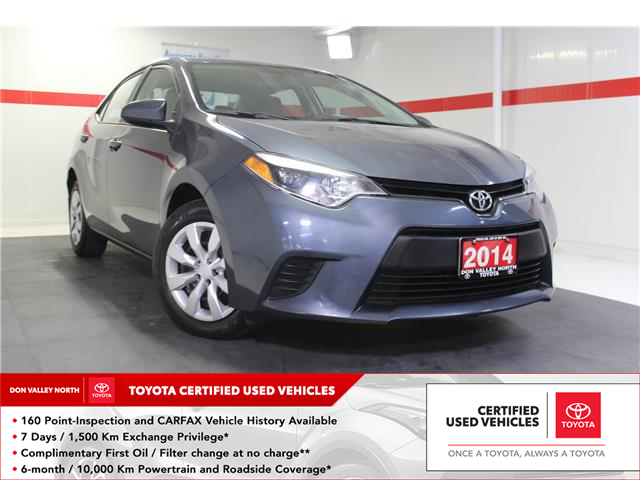 2014 Toyota Corolla LE (Stk: 298798S) in Markham - Image 1 of 24