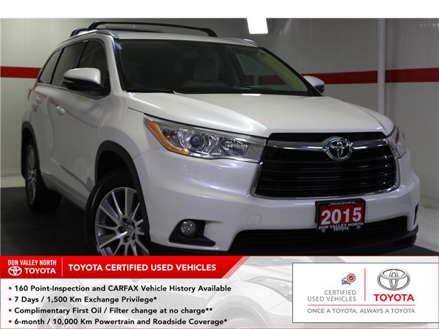 2015 Toyota Highlander XLE (Stk: 298895S) in Markham - Image 1 of 27