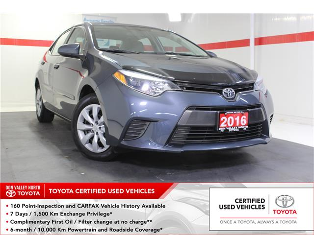 2016 Toyota Corolla LE (Stk: 298938S) in Markham - Image 1 of 24