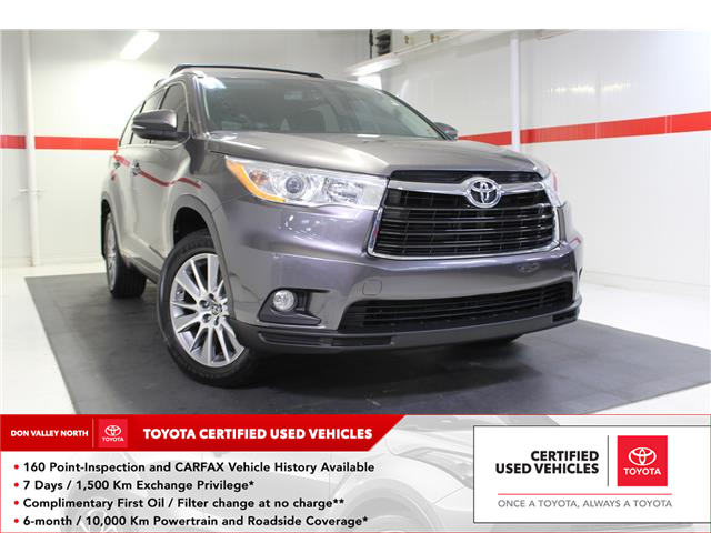 2016 Toyota Highlander XLE (Stk: 298571S) in Markham - Image 1 of 26