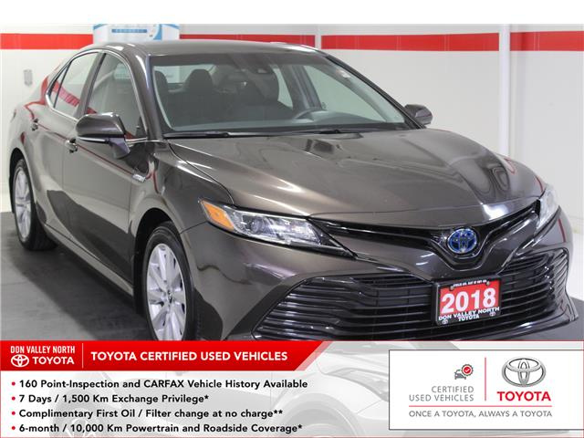 2018 Toyota Camry Hybrid LE (Stk: 298931S) in Markham - Image 1 of 26