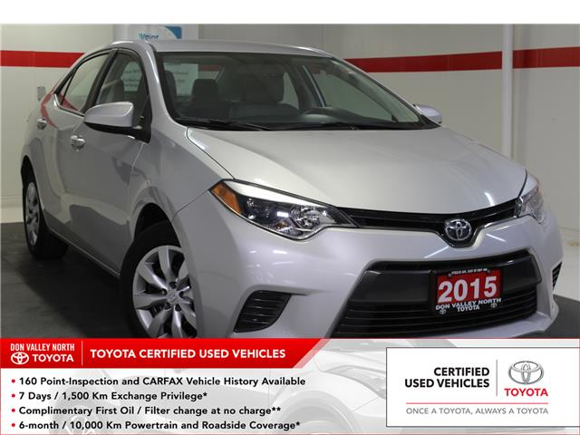 2015 Toyota Corolla LE (Stk: 299017S) in Markham - Image 1 of 24