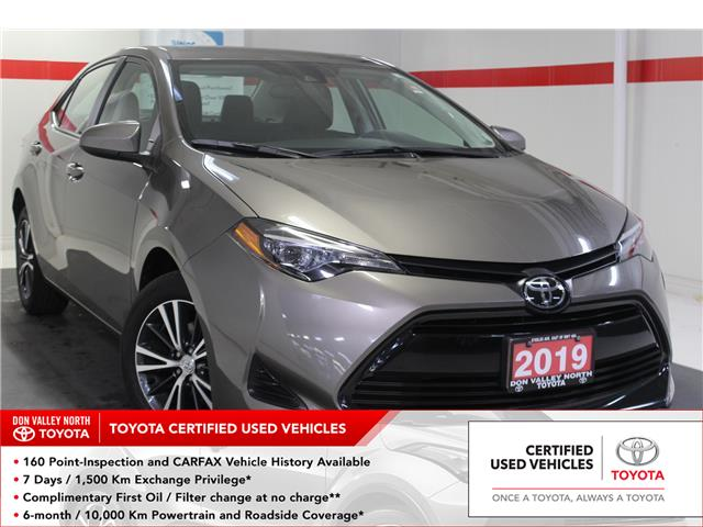 2019 Toyota Corolla LE (Stk: 299122S) in Markham - Image 1 of 26