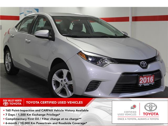 2016 Toyota Corolla LE (Stk: 299416S) in Markham - Image 1 of 24