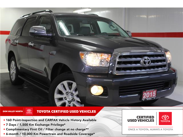 2015 Toyota Sequoia Platinum 5.7L V8 (Stk: 299486S) in Markham - Image 1 of 25