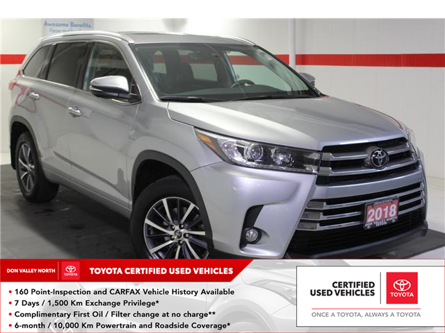 2018 Toyota Highlander XLE (Stk: 299275S) in Markham - Image 1 of 26
