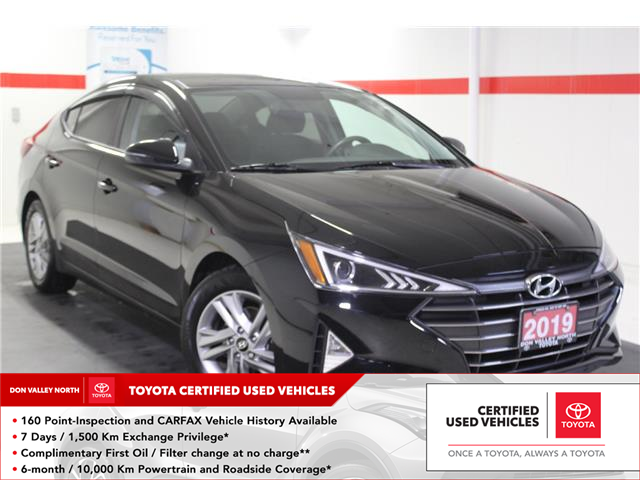 2019 Hyundai Elantra Preferred (Stk: 299585S) in Markham - Image 1 of 24