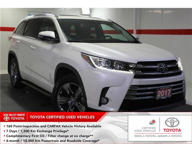 2017 Toyota Highlander Limited (Stk: 299694S) in Markham - Image 1 of 28