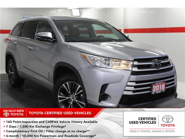 2018 Toyota Highlander LE (Stk: 299732S) in Markham - Image 1 of 23