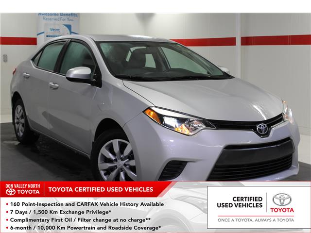 2016 Toyota Corolla LE (Stk: 299745S) in Markham - Image 1 of 24