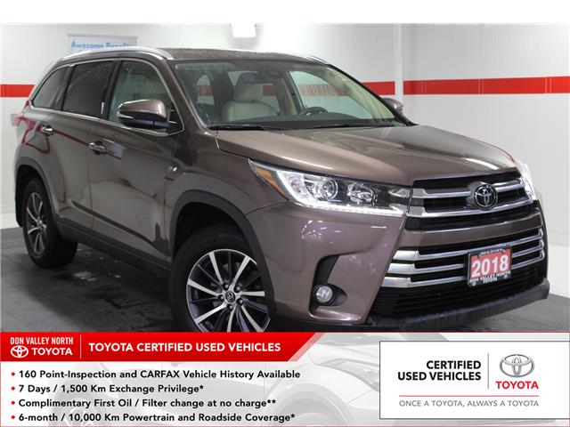 2018 Toyota Highlander XLE (Stk: 299785S) in Markham - Image 1 of 26