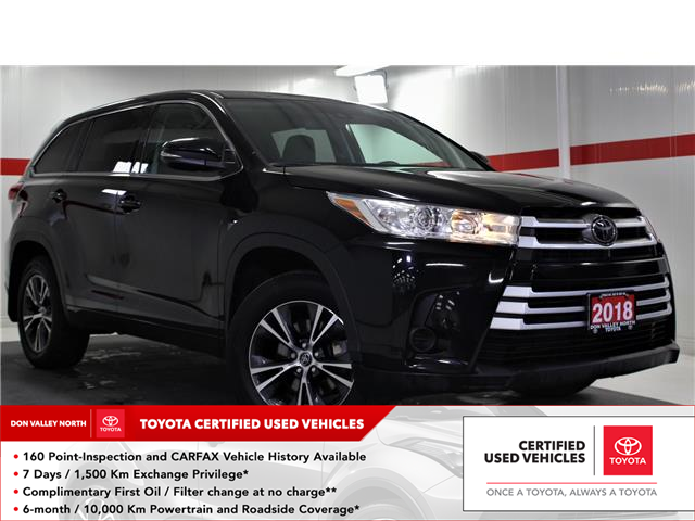 2018 Toyota Highlander LE (Stk: 299903S) in Markham - Image 1 of 25
