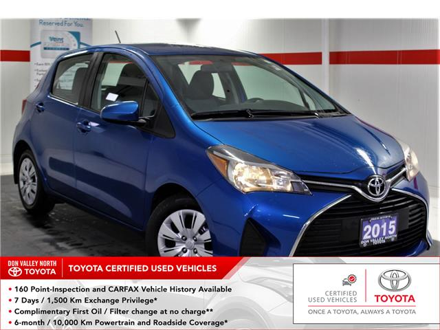 2015 Toyota Yaris LE (Stk: 299683S) in Markham - Image 1 of 21