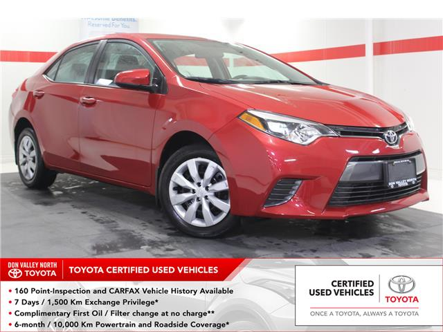 2016 Toyota Corolla LE (Stk: 299982S) in Markham - Image 1 of 21